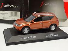 J Collection 1/43 - Nissan Murano Orange Métal