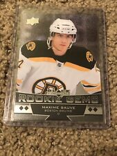 2012/13 UD Black Diamond Rookie Gems Maxime Sauve SSP!