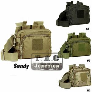 Tactical 2 Banger Shooter Magazine Carrier Bag 5.56 & Pistol 600D Shoulder Bag