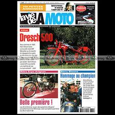 LA VIE DE LA MOTO LVM N°334 ★ Essai Test DRESCH 500 MONOBLOC 1933 ★ BARRY SHEENE
