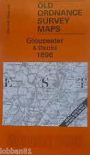 OLD ORDNANCE SURVEY MAP GLOUCESTER & DISTRICT PLAN OF PAINSWICK 1896  SHEET 234