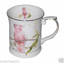 Fine Bone China Major Mitchel Cockatoo Tea Cup Mug  - Australian Bird Series