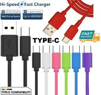 For Samsung Galaxy S8 S8+ A7 A5 A3 2017 USB Type C Fast Charging Cable Lead 1,2M