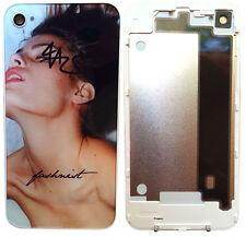 iPhone 4 4S Backcover Rückschale Gehäuse Akkudeckel Glas Original Model Weiß