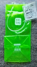 ICE BAG VERT SAC TRANSFORMABLE EN SEAU A GLACON VIN BLANC OU ROSE (objet neuf)