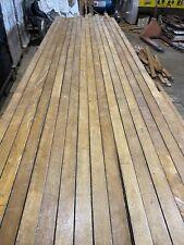 Reclaimed Canadian Maple Strip Flooring, Antique, Hardwood, UK Delivery