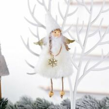 Christmas Angel Plush Doll Pendant Xmas Tree Hanging Decor Party Ornaments Gift