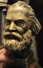 KARL MARX BUST 2 -- Resin Statue Russian Figure Communist Soviet Sculpture USSR