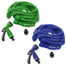 Expandable Flexible 20/50/75/100FT Magic Water Hose Pipe w/Spray Nozzle US Stock