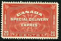 Canada 1930 Special Delivery Express 20¢ Scott #E4  MNH H594