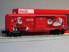 LIONEL COCA COLA CHRISTMAS SANTA CLAUSE BOXCAR O GAUGE train coke 6-82879 NEW