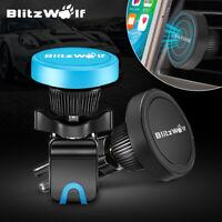 BlitzWolf 360° Rotation Magnetic Car Air Vent Mount Holder Cradle For