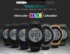 SKMEI 1068 LED Wasserdichte Herren Outdoor Sports Watch Digital Uhr
