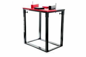 Armwrestling Tisch für Armdrücken zur Selbstmontage klappbar -Kunstleder RA-02/0