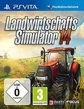 Landwirtschafts-Simulator 14 (Sony PlayStation Vita, 2014, Keep Case)