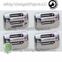 For 2004-09 2010 2011 2012 2013 2014 Ford F150 Chrome Door Handle Cover w/Keypad