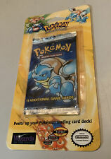 1999 Pokemon Original BASE SET Blister Booster Pack New Cards Blastoise Weighed