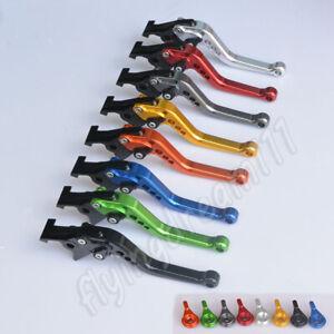 Short CNC Brake Clutch Levers For Honda VFR800 1998 1999 2000 2001