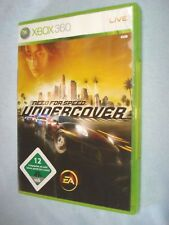need for speed undercover xbox 360 - PAL  OVP + Anleitung