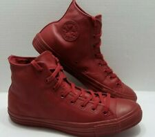 Converse Chuck Taylor All Star Hi Back Alley Burgundy Leather - Men's Size 11.5
