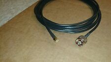 US MADE 25 ft  RG-58  SMA Male to N Male   (50 ohm)Coax  Cable
