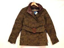 Holden rare camo like moss green winter ski snowboard jacket / women M / b55