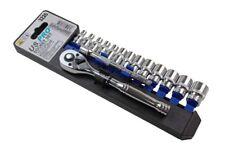 US PRO Tools 15pc 1/4''dr Socket Set, Ratchet Sockets NEW 3226