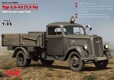 ICM 1/35 Opel Blitz typ 2,5-32 (1,5 tonne) WWII GERMAN LIGHT TRUCK # 35401