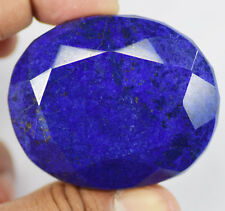 High Quality 459 Ct Natural Certified African Blue Sapphire Loose Gemstone