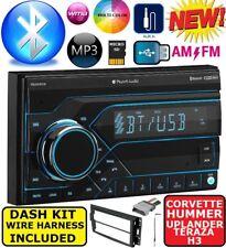 CHEVY CORVETTE HUMMER H3  AM/FM BLUETOOTH USB SD MP3 AUX CAR RADIO STEREO PKG