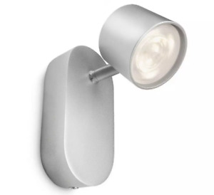 NEW Philips myLiving Aluminium LED Spot light Lamp GU10 Bulb 4.5 W