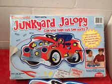 Junkyard Jalopy Electronic Game Incomplete Missing 2 car parts
