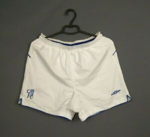 Chelsea Shorts Size MEDIUM Vintage Retro Football Soccer Umbro ig93