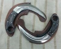 "Custom made Beautiful Real Steel ""RAID2 Silat"" Karambit knife set"