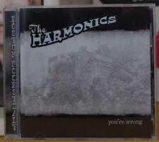 THE HARMONICS YOU'RE WRONG COMPACT DISC SPIT SHINE 2004