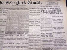 1930 APR 24 NEW YORK TIMES WET ACCUSED LOBBYING WITH SUPREME COURT - NT 1569