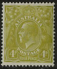 Australia   1931-36   Scott #118    Mint Very Lightly Hinged