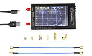 4.3 inch 50KHz-3GHz NanoVNA-F V2 VNA Vector Network Antenna Analyzer UHF HF VHF