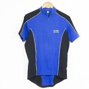 Gore Bike Wear Cycling jersey Blue Mens Size L