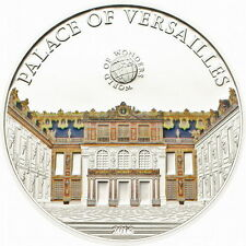 2013 Palau Large Proof Silver color $5 World Wonders-Versailles