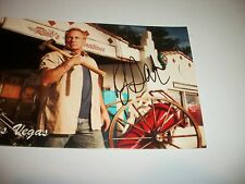 RICK DALE SIGNED POST CARD