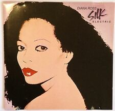 RARE DIANA ROSS CD ALBUM SILK ELECTRIC INC MICHAEL JACKSONS MUSCLES 1993 EMI UK
