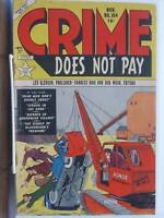 Crime Does Not Pay 104 vg  Precode