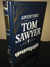 MARK TWAIN TOM SAWYER -  LEATHERBOUND HARDBACK BOOK