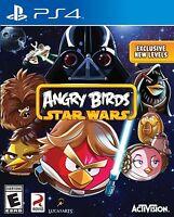 NEW Angry Birds Star Wars (Sony Playstation 4, 2013) NTSC