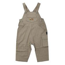 Kanz Latzhose Hosen lange Hose beige Baumwolle Jungen Baby Gr.74