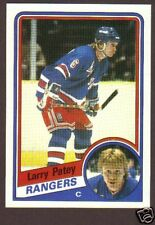 1984-85 Topps Hockey Larry Patey #111 NY Rangers NM/MT