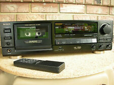 Aiwa AD-F810 There head Remote Control Cassette Deck
