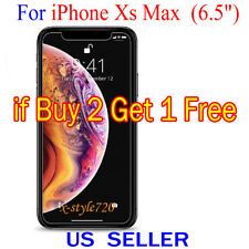 """1x Clear Screen Protector Guard Cover Shield For Apple iPhone Xs Max ( 6.5"""" )"""