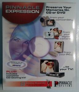 Pinnacle Expression 2002 - Home Movies & Photos to CD/DVD - Windows 2000/XP